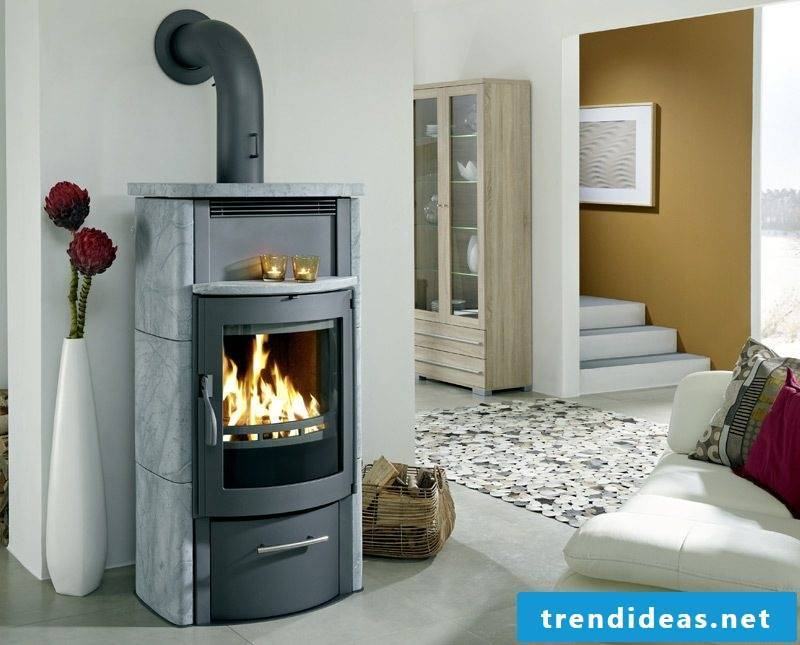 Modern stoves have a cozy and warm atmosphere