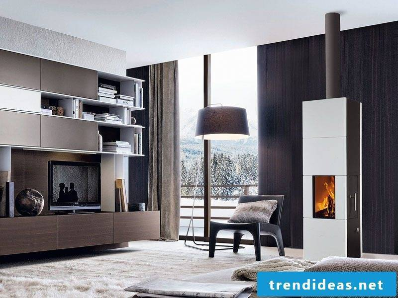 Modern stoves look like a part of the interior