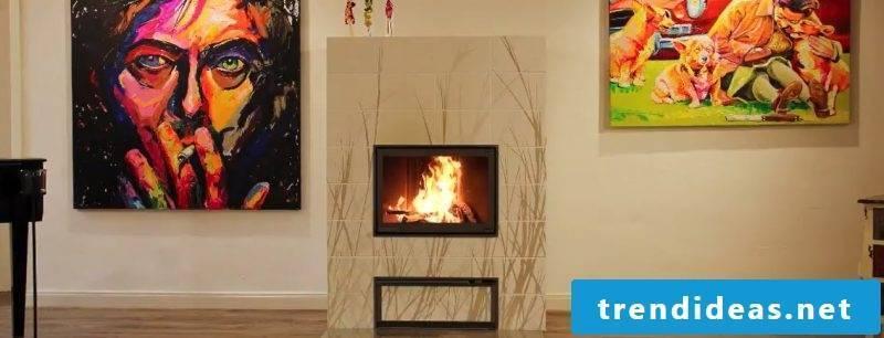 Modern stoves in a kind of design