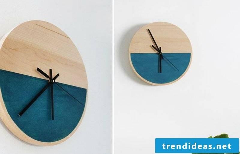 Modern wall clocks DIY clock