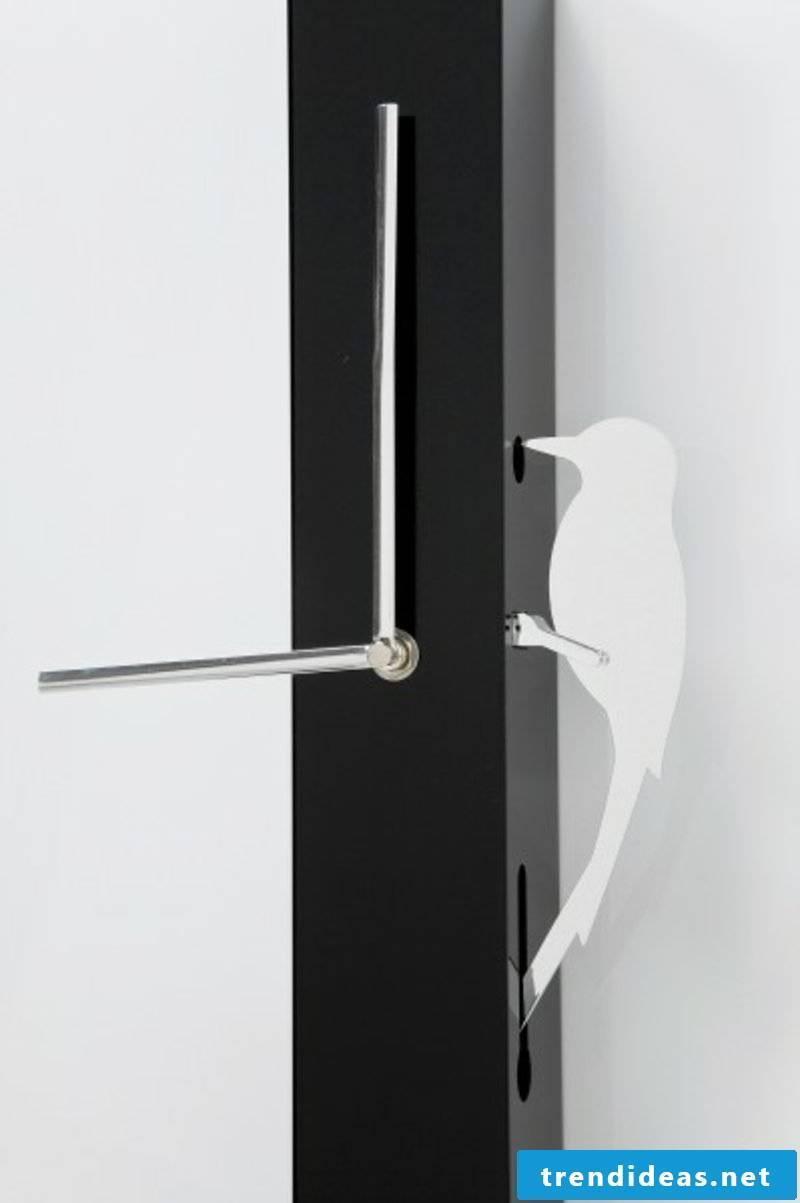 modern wall clocks wall clock pendulum bird kare design