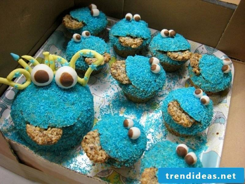 Muffins for kids Cookie Monster