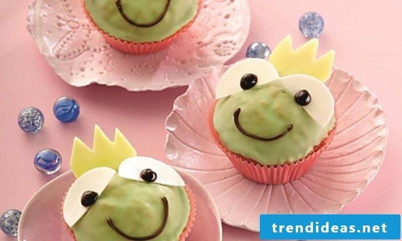 Muffins Kids Birthday Recipe Frog Prince