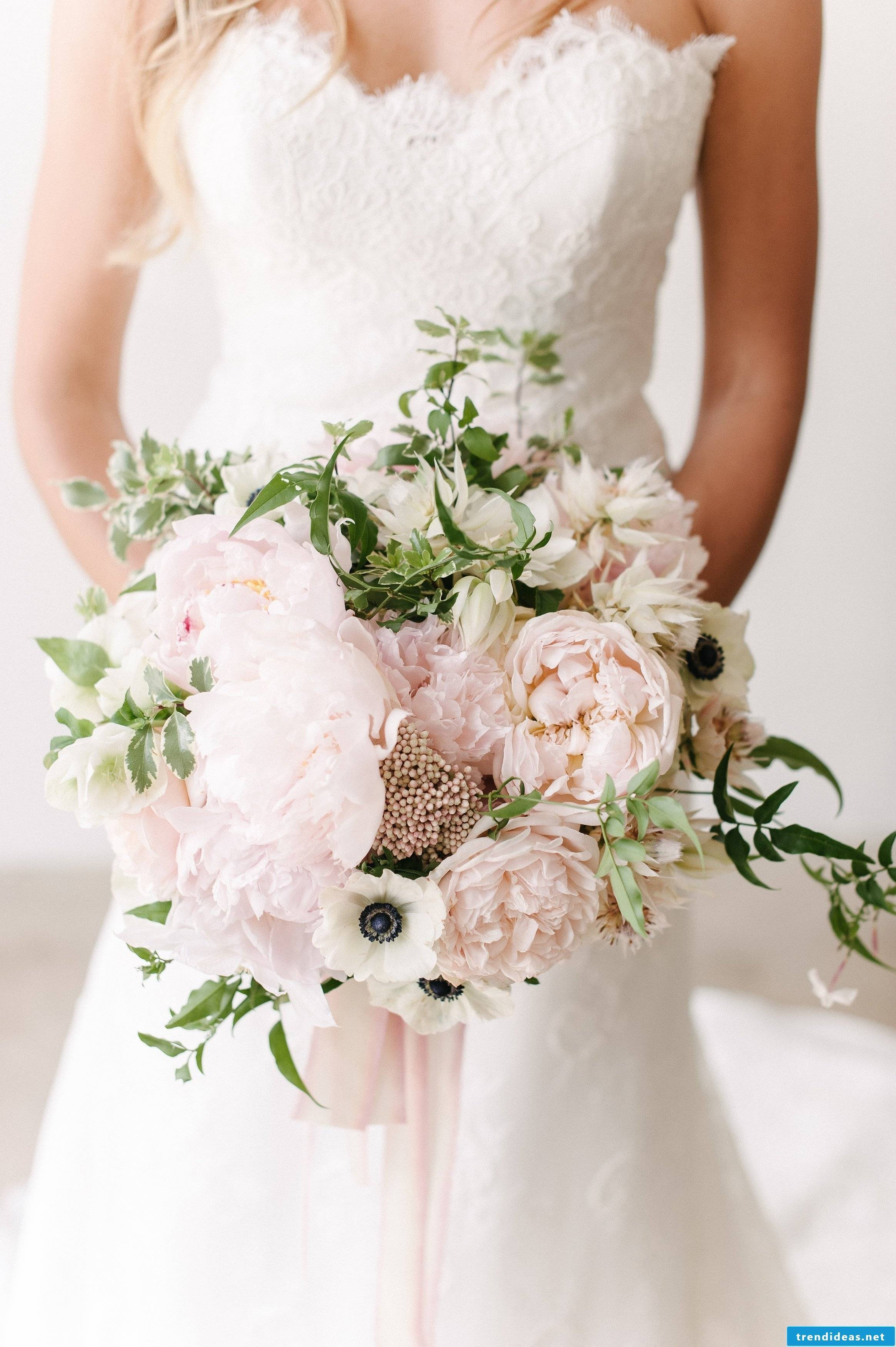 Trend 2018: In wedding decoration the pastel colors play a decisive role
