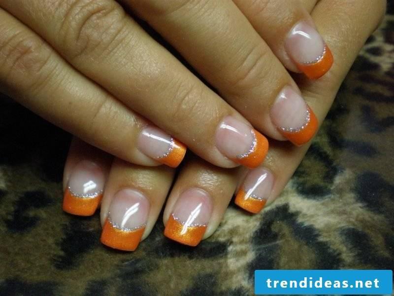 Orange as an accent color