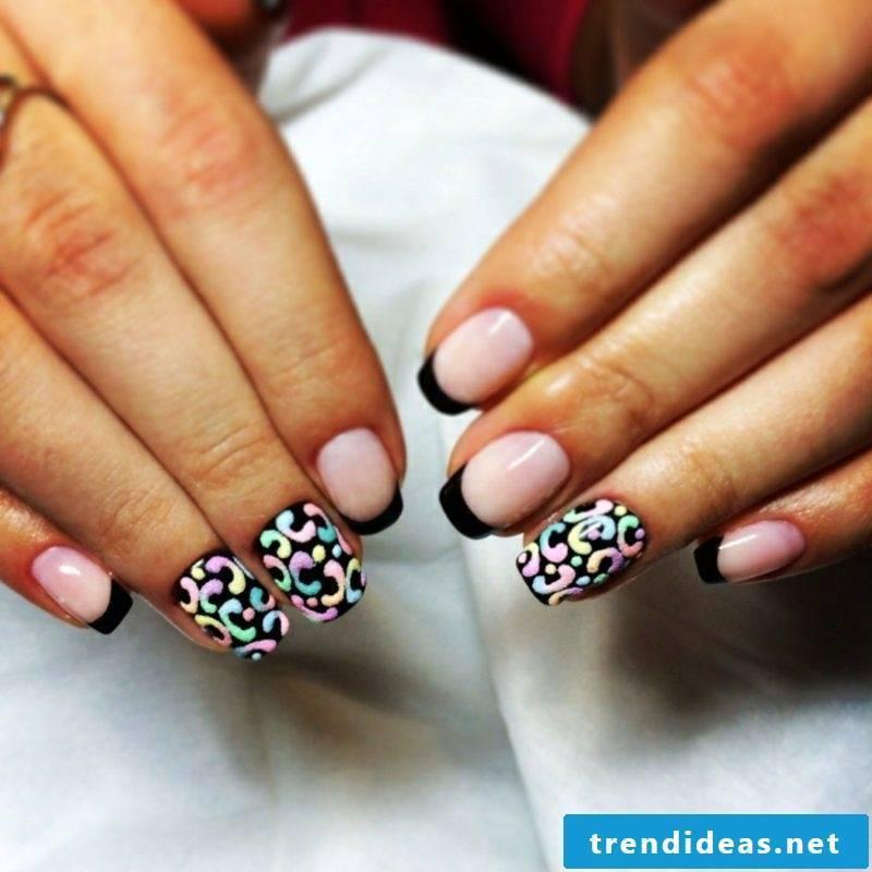 Fingernails design trends winter 2016