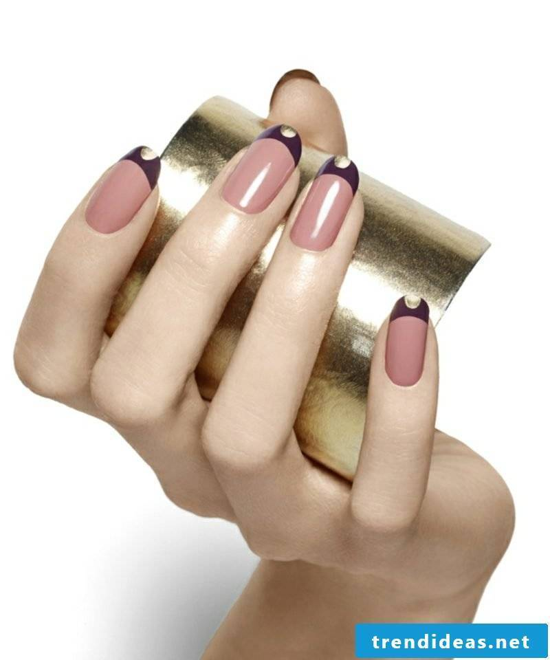 Modern nail design Winter 2016 Ideas and inspirations