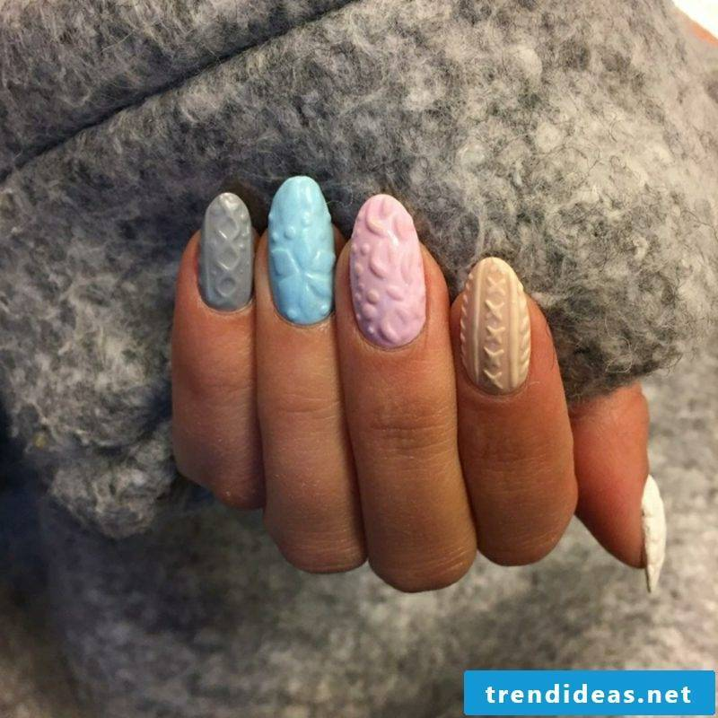 Nail design in 3D optics