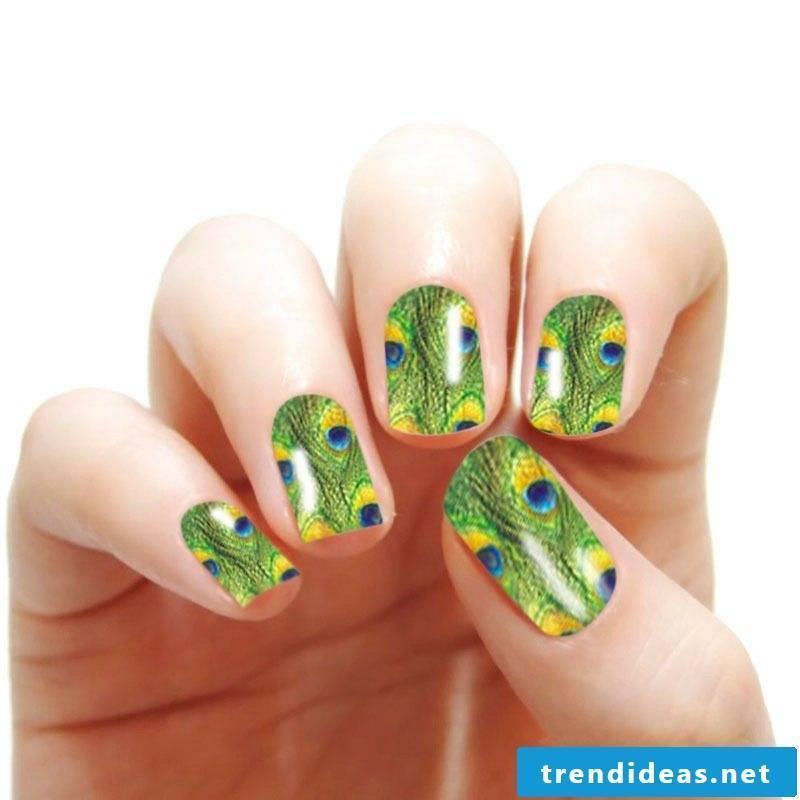 fancy nail art design