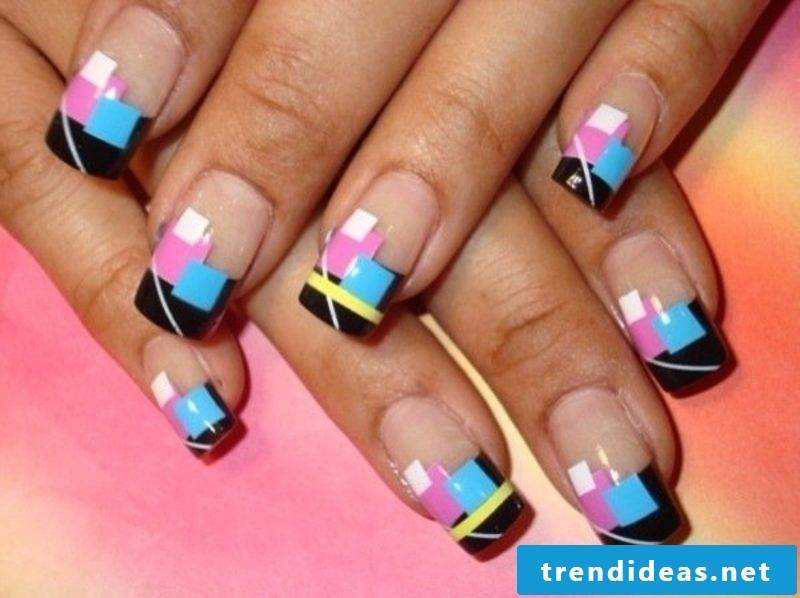 Nailart gallery winter extravagant ideas geometric pattern