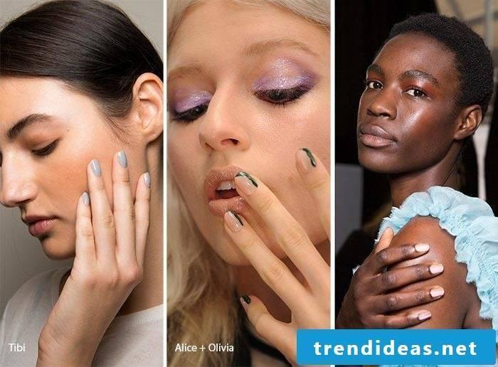 Nail Motives - Short Nails are Trend Nail Design 2017