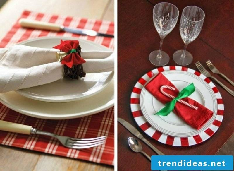 Napkins are folding at christmas ideas and instructions best napkins fold for christmas diy napkin rings loop solutioingenieria Choice Image