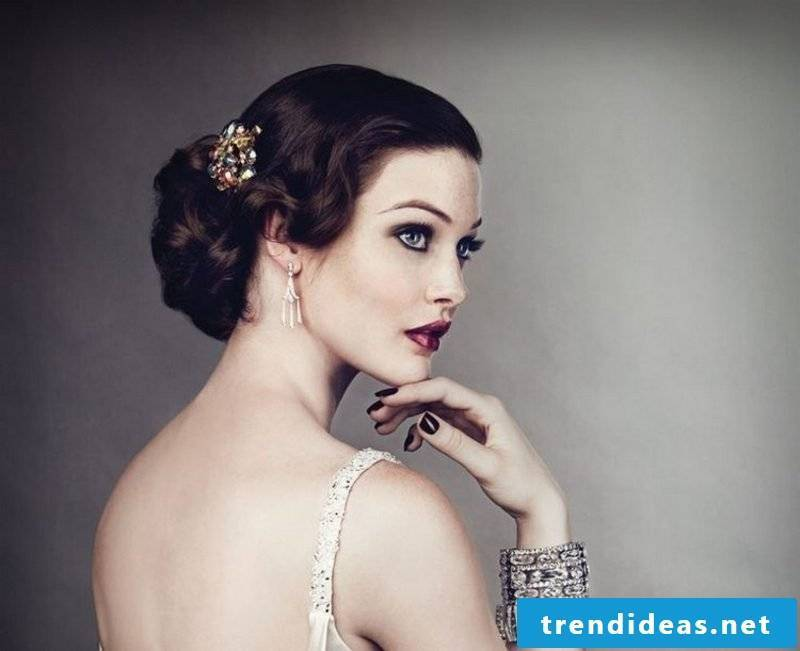 beautiful updos elegant Dutt hair accessory