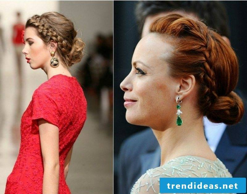 beautiful updos side-head gorgeous look