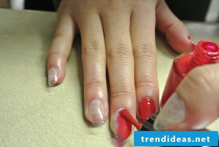Beautiful gel nails instructions step 2
