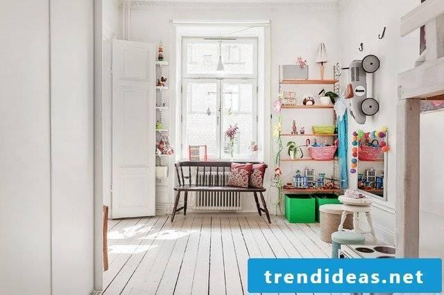 children's room scandinavian decorating ideas nursery furniture white