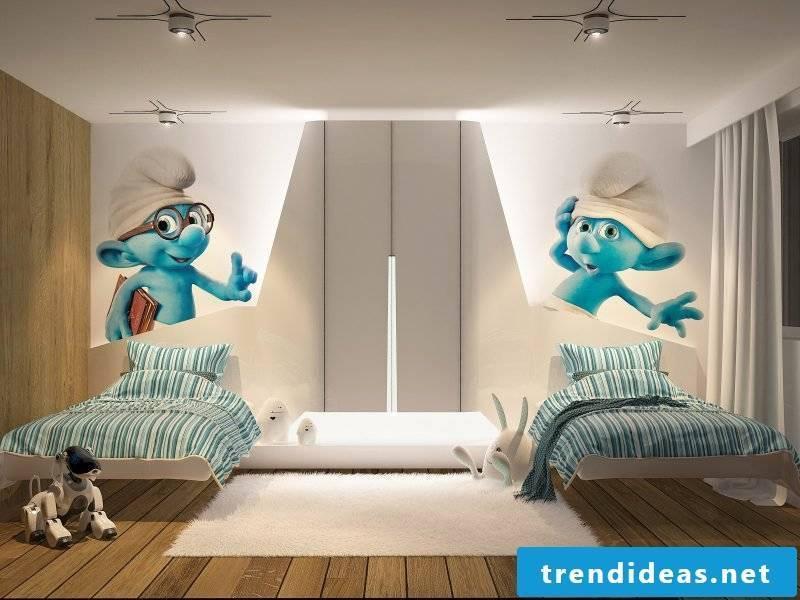 children's room ideas child bed design wall design nursery design