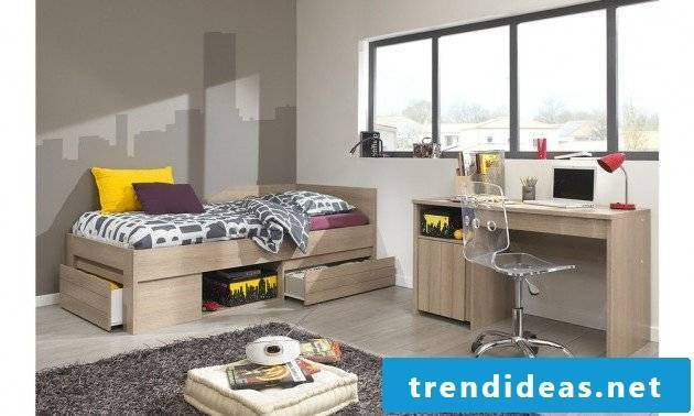 nursery ideas gray color scheme youth room set up