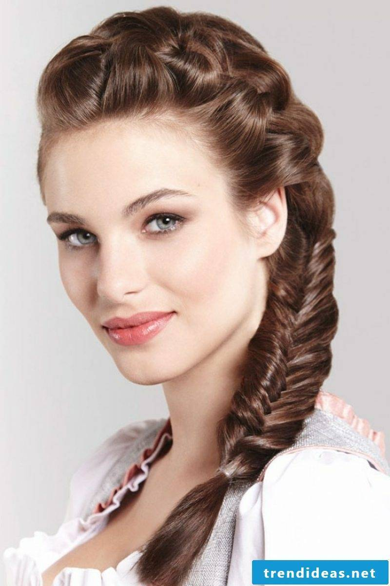 Braided hairstyles Dirndl ideas for re-styling