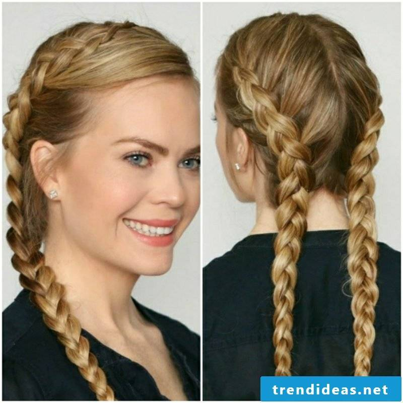 Oktoberfest hairstyles braided gorgeous look