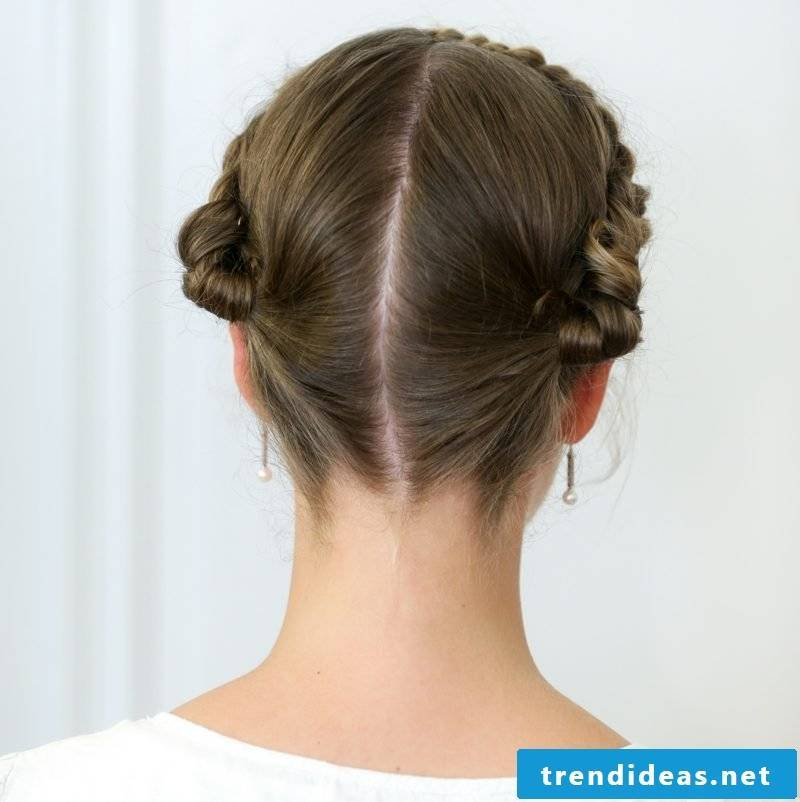 Make hairstyles Oktoberfest Gretchenzopf yourself