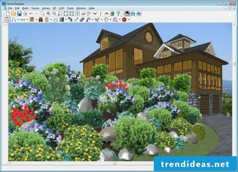 qualitative online garden planner 3D