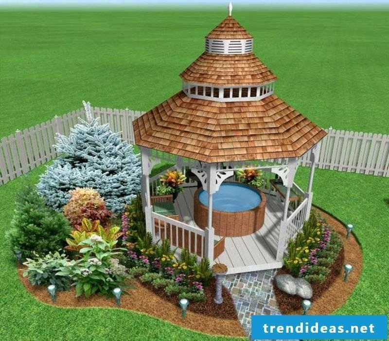 3D online garden planner pergola