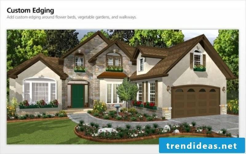 Garden planner online 3D