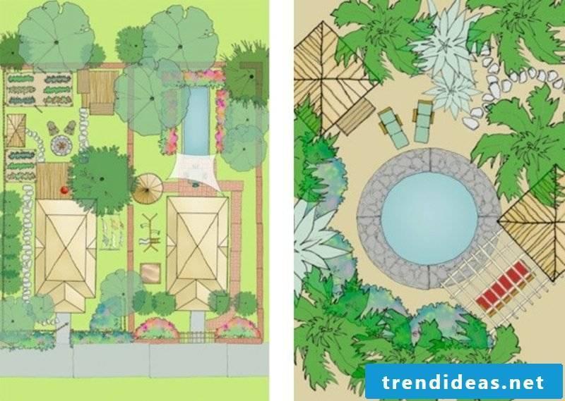 2D Garden Planner online for free