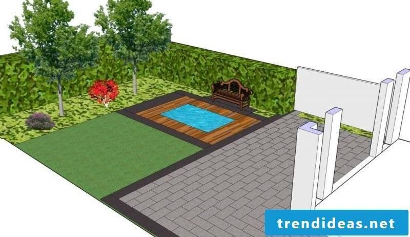 online Garden Planner 2D schematic illustration