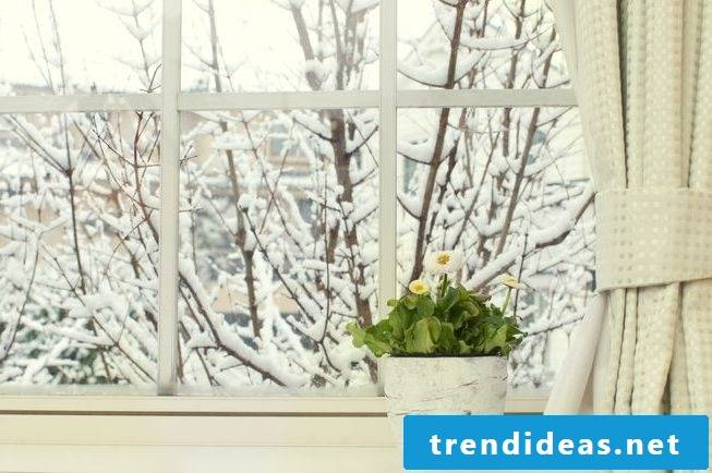 optimal humidity living rooms winter ventilate regularly