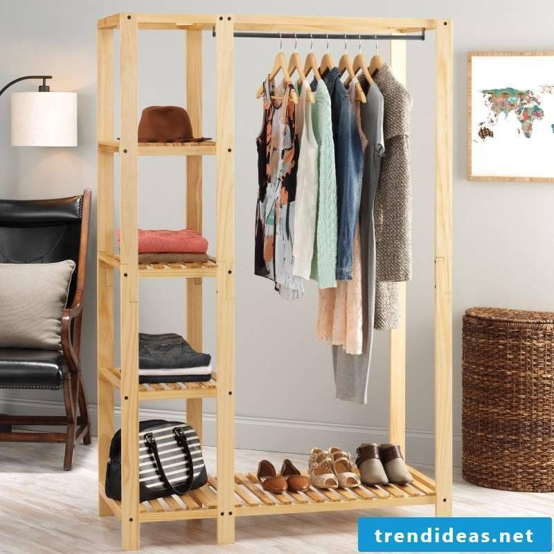 Walk-in wardrobe: express your sense of style!