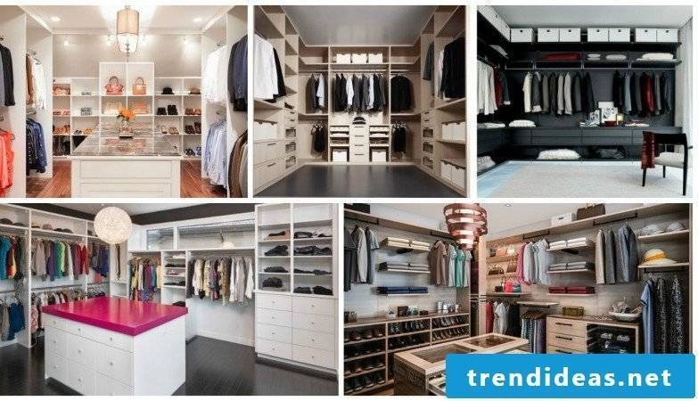 how can you create walk-in wardrobe ideas yourself