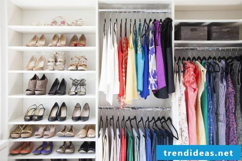 order in the chic design walk-in wardrobe build your own store shoes