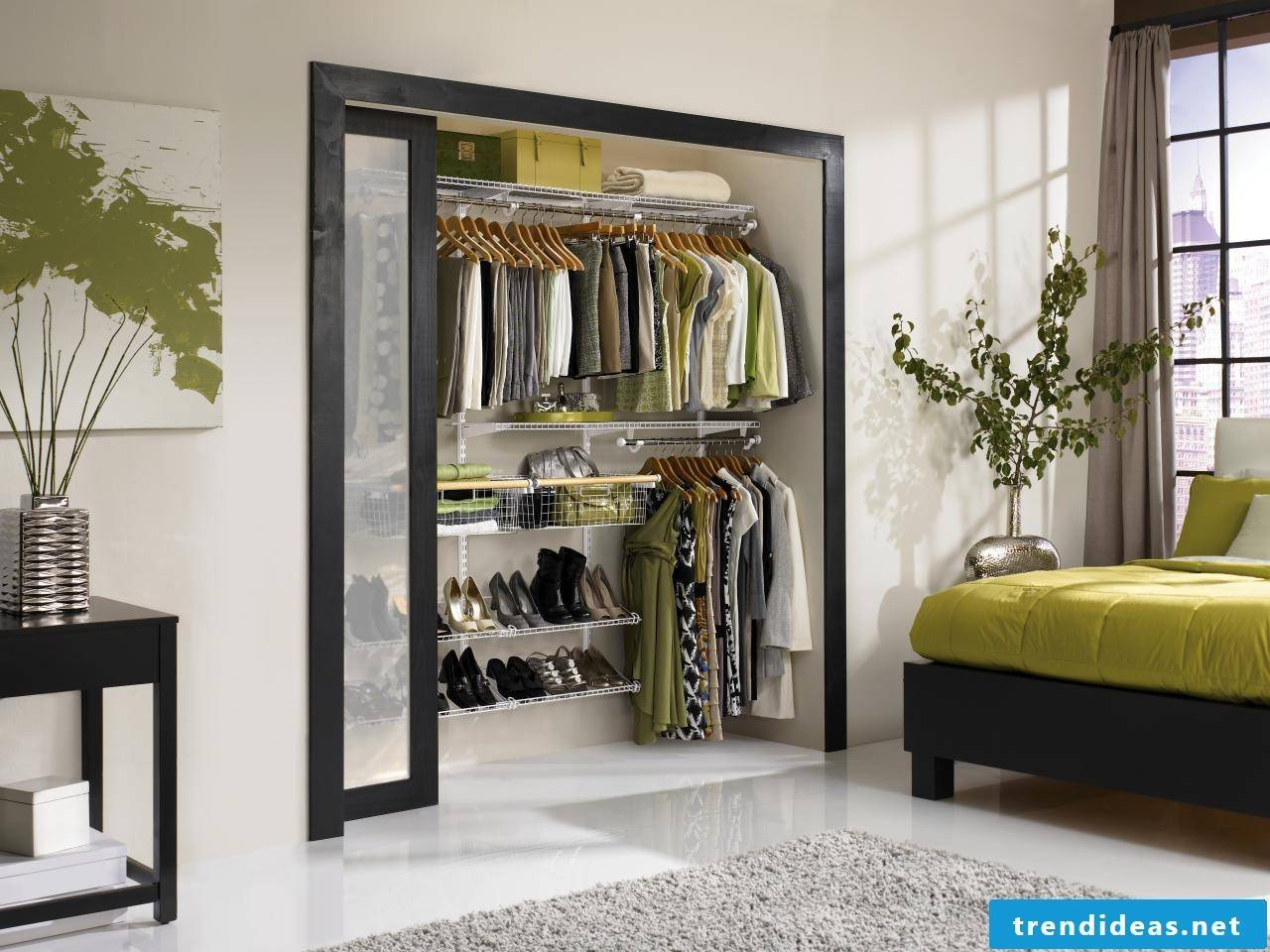 Shelving systems for wardrobes ensure your best comfort!