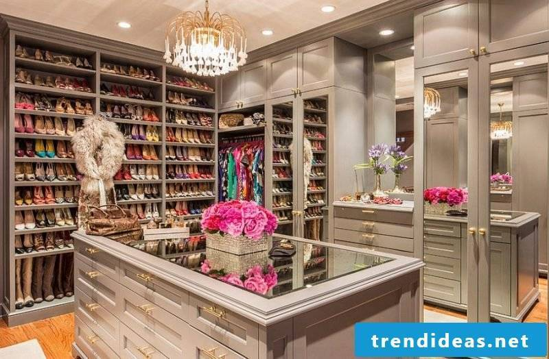 open shelving systems wardrobe shoes luxury home