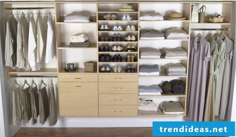 What should the perfect walk-in wardrobe look like?