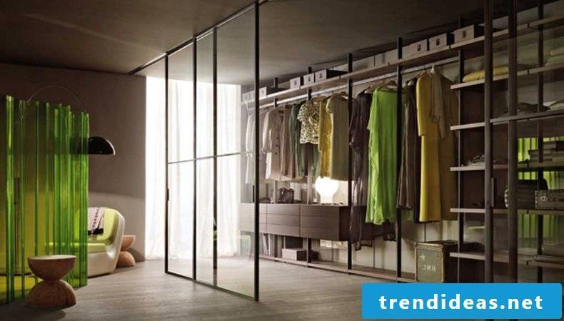 The perfect walk-in wardrobe in the bedroom window stool dresses stylish
