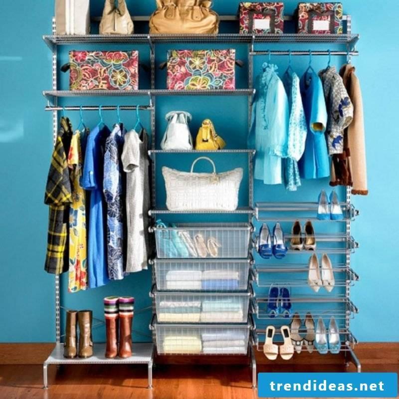 best ideas walk-in wardrobe shoe rack bags clothes rack