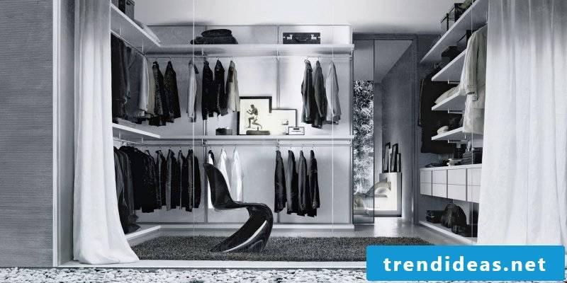 walk-in wardrobe with unique design stylish comfort quality luxury