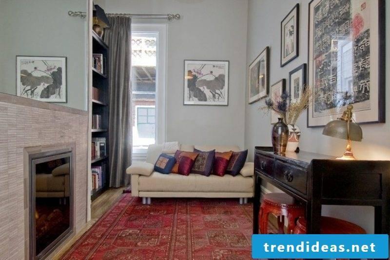 large oriental rug burgundy