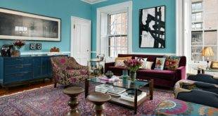 Oriental carpet as an accent in the interior - 21 examples