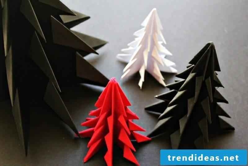 Origami Christmas DIY Ideas Fir-tree