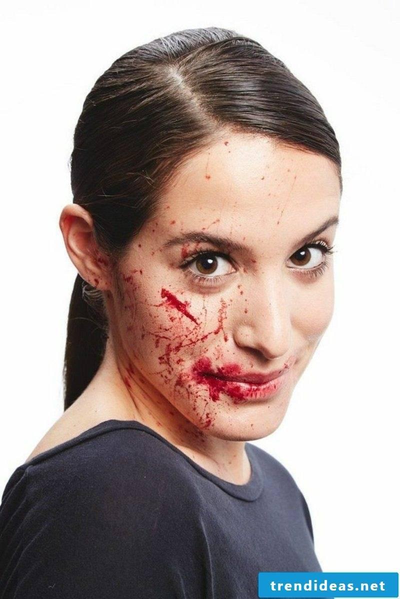 Halloween make-up tips women