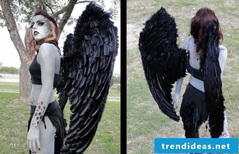 Halloween costumes creepy harpy