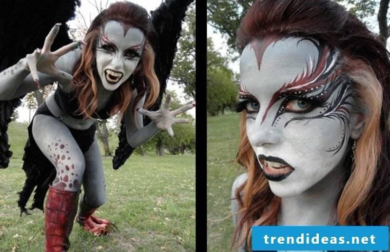 Halloween costumes women harpy