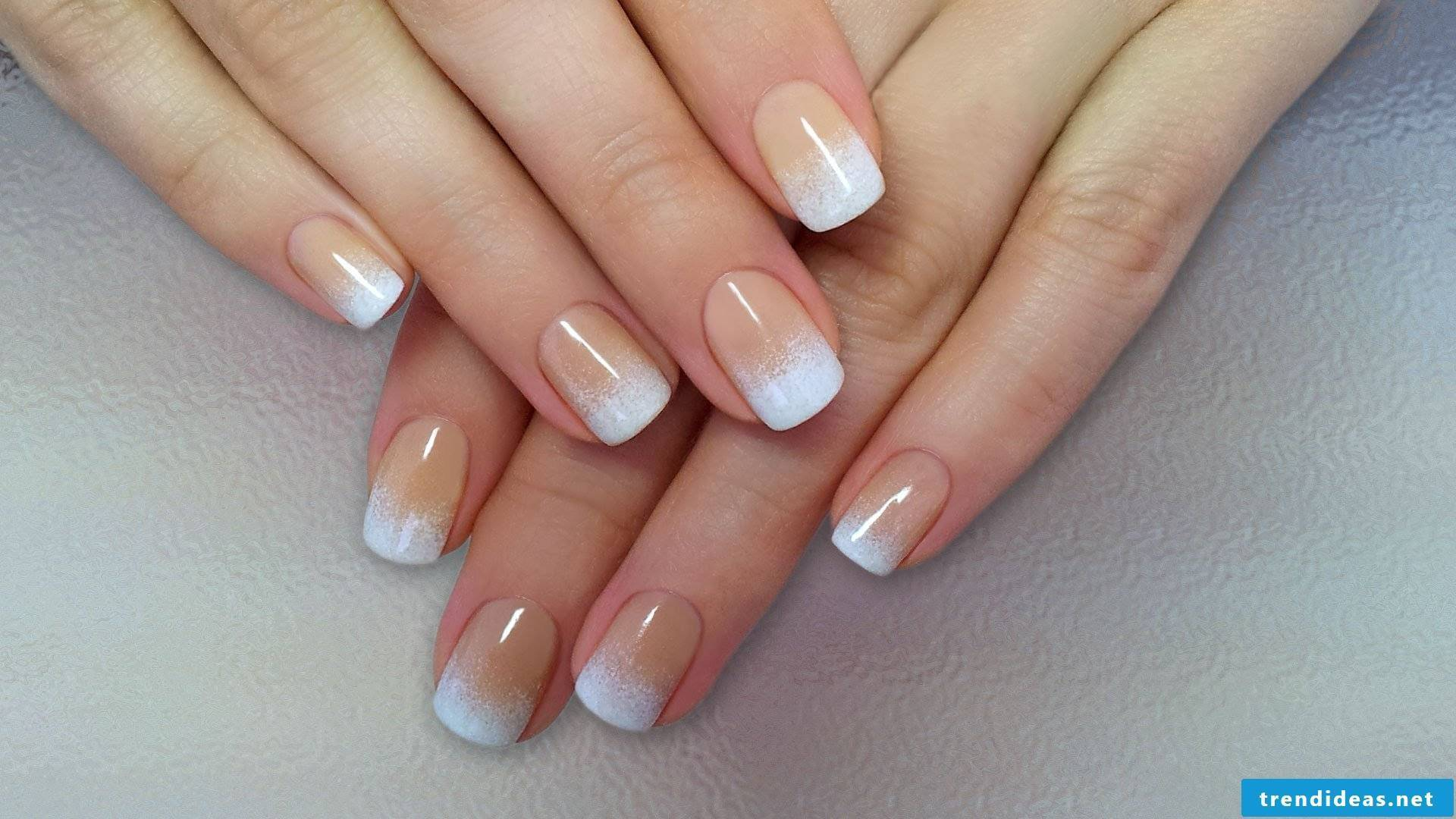 Ombre nails - noble and well-groomed