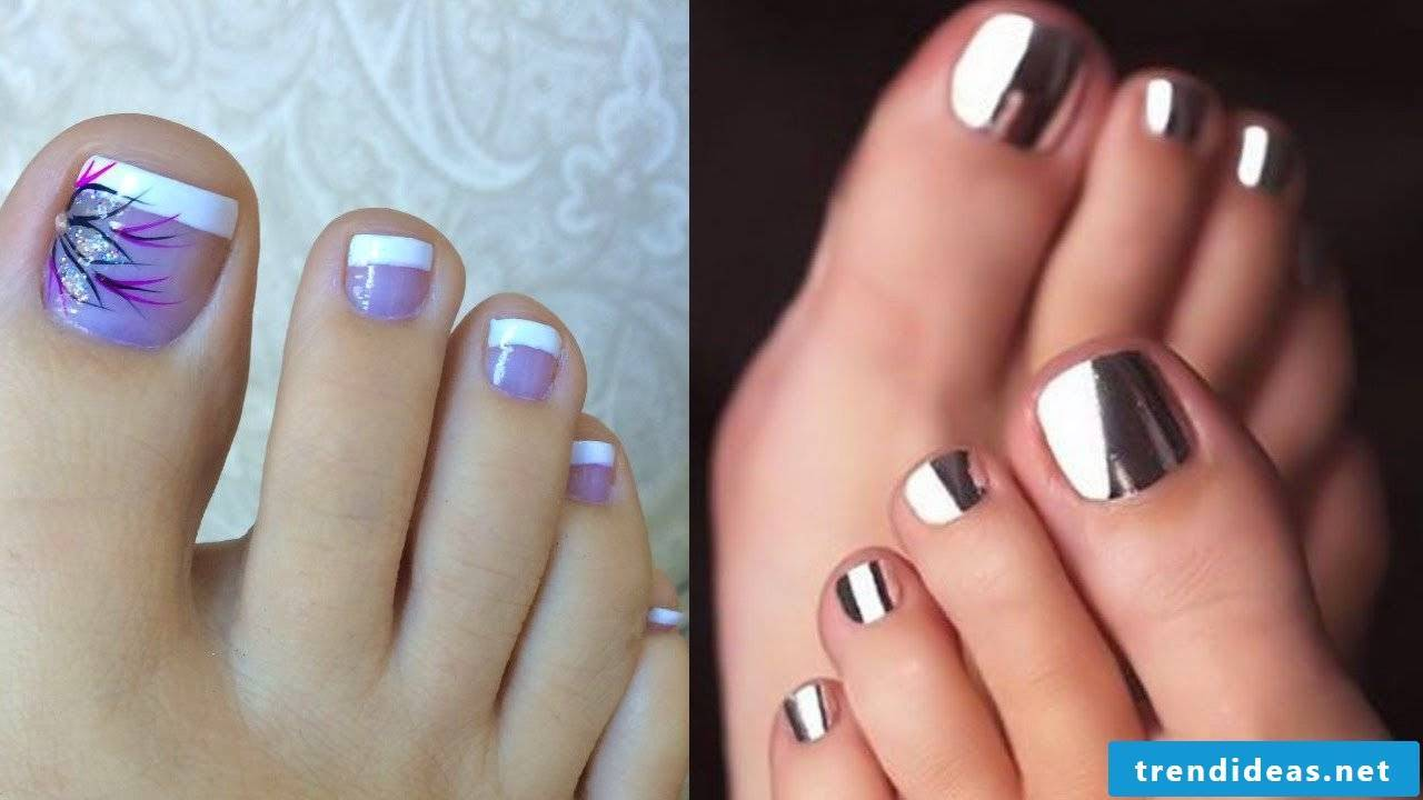 Ideas for foot nail polish