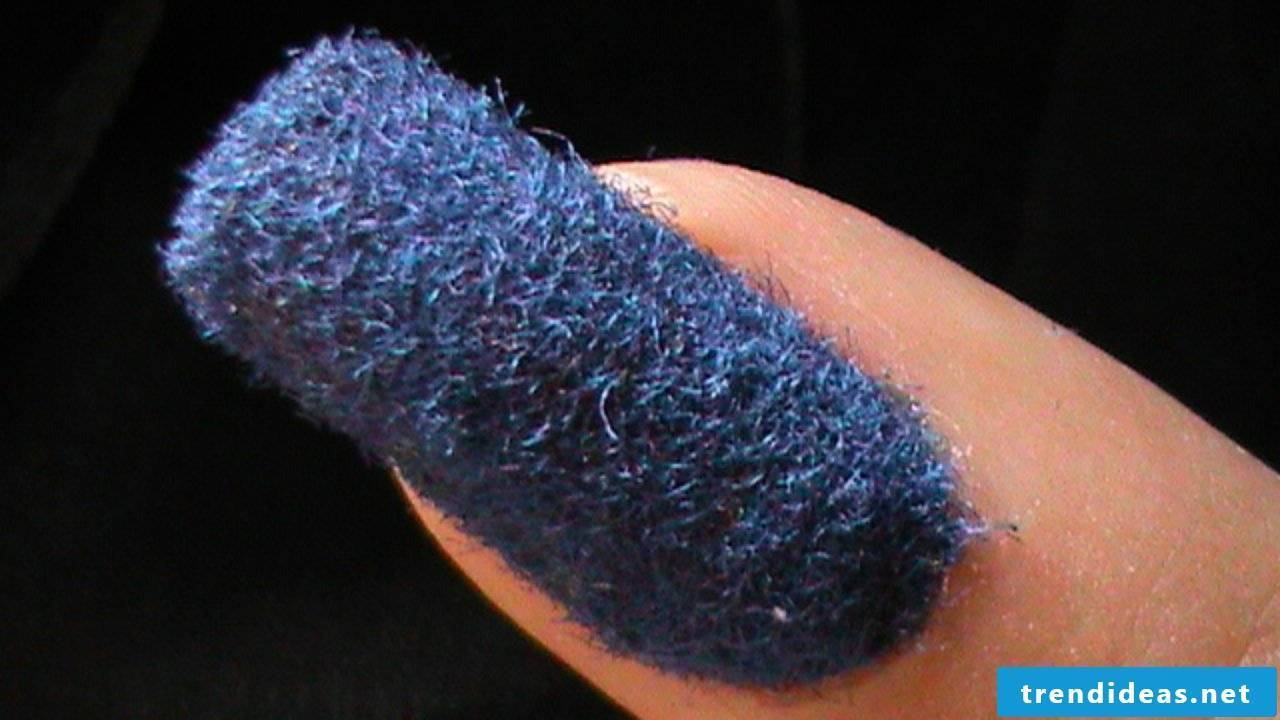 Beautiful fingernails - a hairy story
