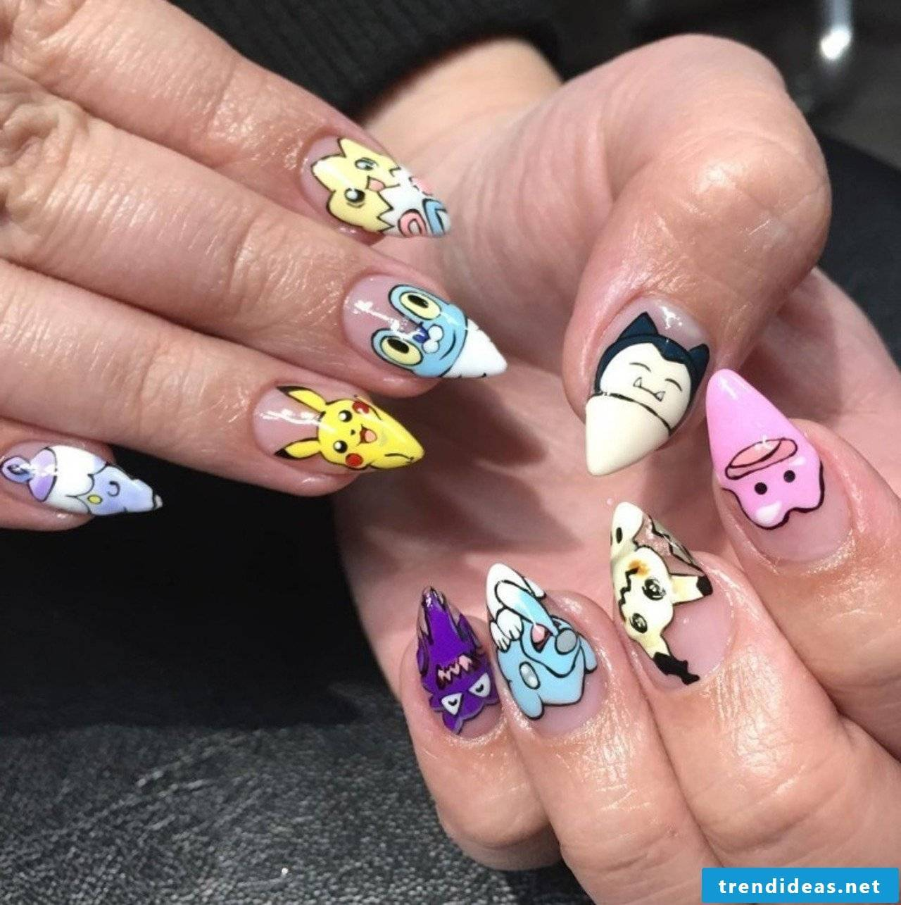 Funny fingernails images